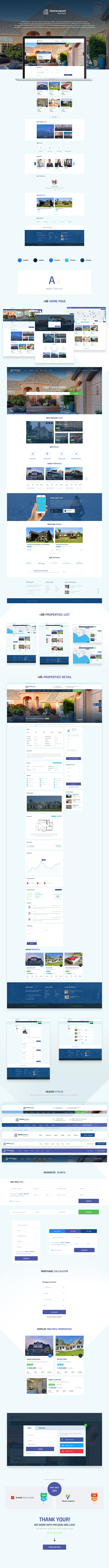 HomeSweet - Real Estate WordPress Theme - 1