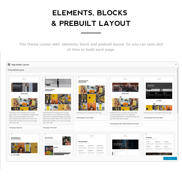 Baowe - Responsive One/Multi Page Portfolio WordPress Theme - 3