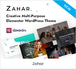 Creative Multipurpose Elementor WordPress Theme