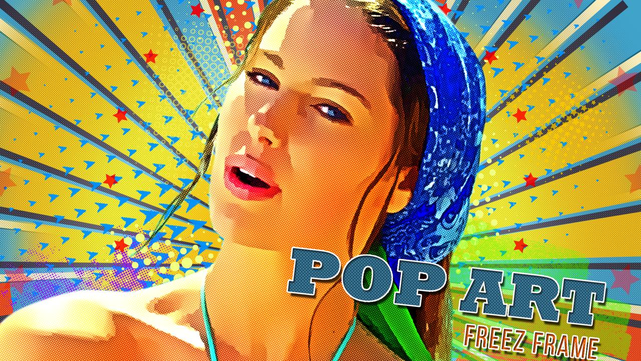 Freeze Frame Pop Art Retro Trailer - 1