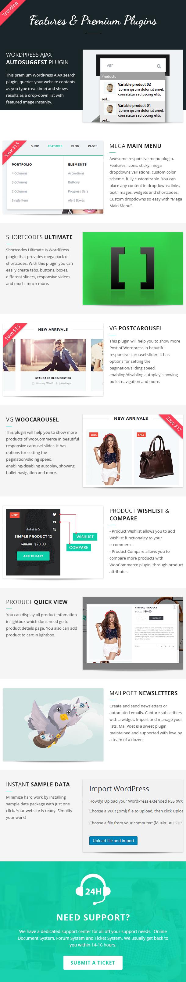 VG Amadea - Multipurpose WordPress Theme - 19