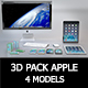 Pack Apple 3d