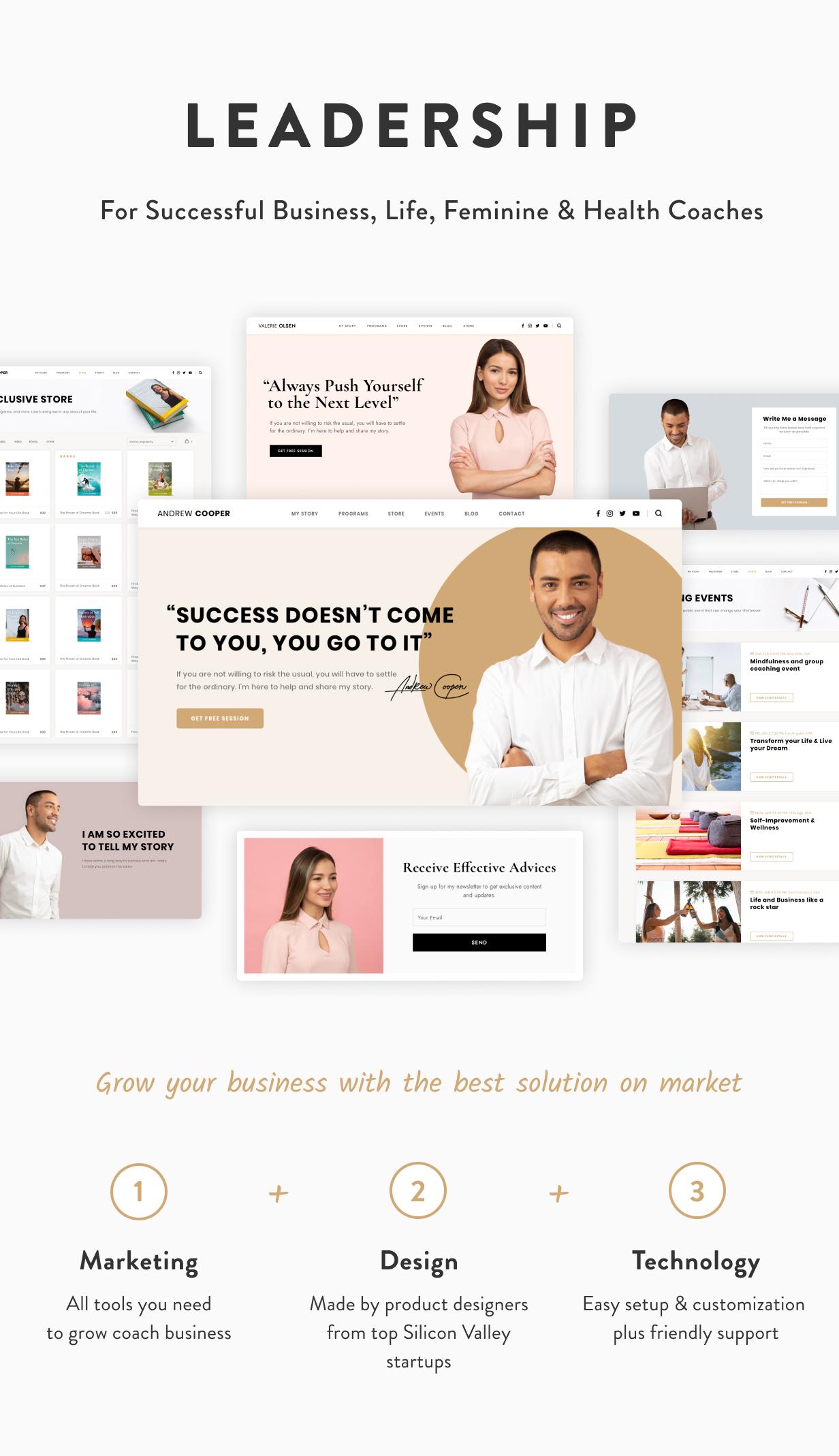 Leadership — Coach WordPress Theme - 3
