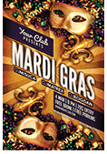 Mardi Gras Party Flyer - 2