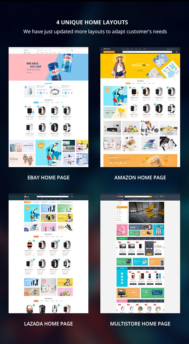 Marketplace WP Theme support Dokan Multi Vendors - 9