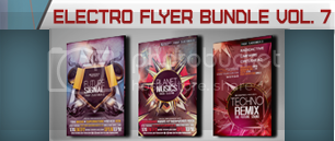 Christmas Electro Flyer Bundle Vol. 1 - 8