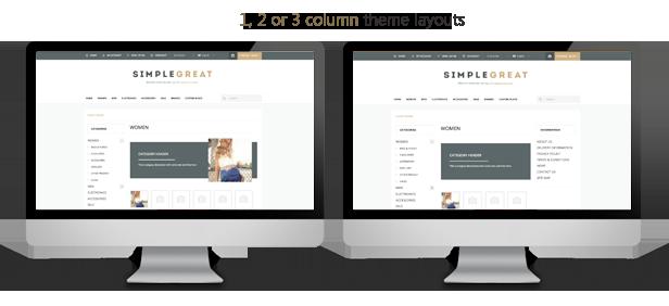 SimpleGreat – Premium Responsive OpenCart theme! - 16