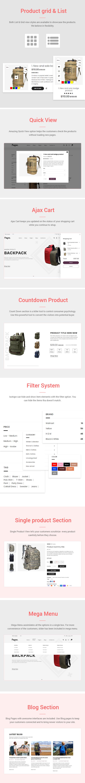 Payne - Backpack eCommerce Shopify Theme - 2