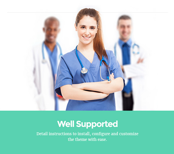 Medicare Pharmacies healthcare wordpress theme well supported