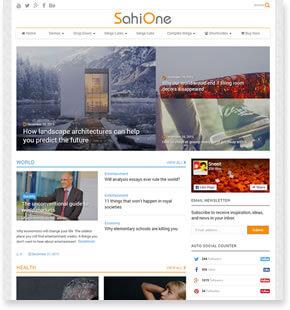 MagOne-响应式新闻和杂志博客模板[更至v7.3]插图6