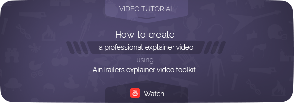 AinTrailers | Explainer Video Toolkit with Character Animation Builder - 96