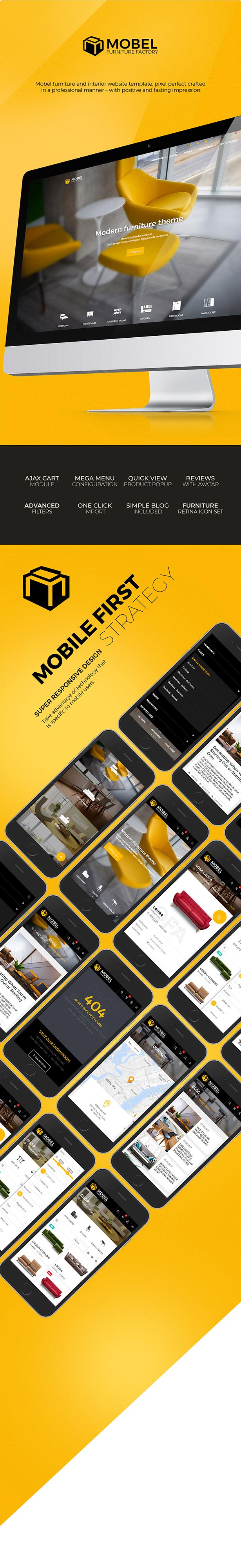 Mobel - Furniture OpenCart Theme - 4