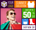 Marketing Banner ad Design with Metro style