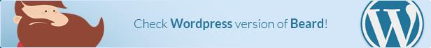 Beard - App Landing Page Wordpress Theme