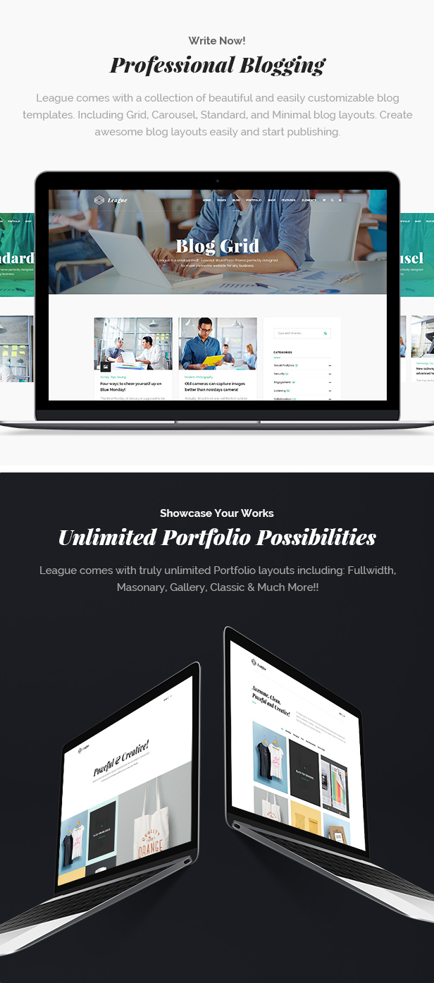 Business League - A Powerful Theme for Business, Freelancers and Agencies - 8