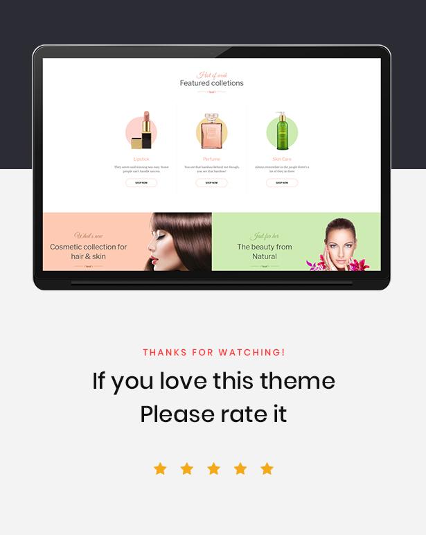 Leo Cosmetic Store - Health and Beauty PrestaShop Template