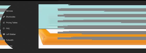 configurable mega menu with icons