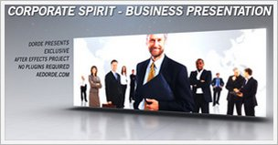 Corporate Spirit Business Presentation
