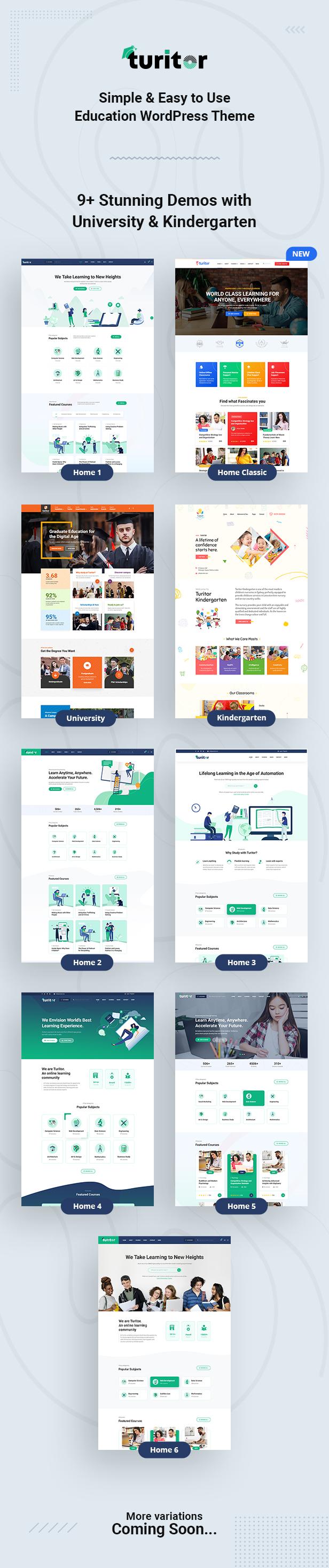 Turitor Education WordPress Theme