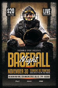 156-Baseball-night