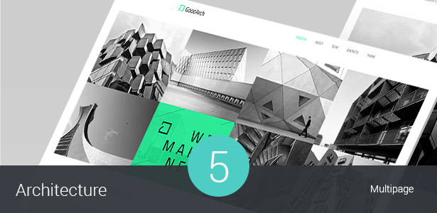 Building & Architecture Wordpress Theme