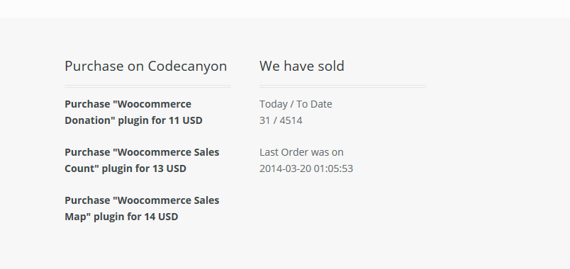 Woocommerce Today Orders and To-date orders - 2