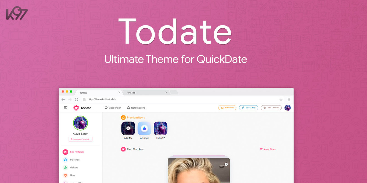 QuickDate - The Ultimate PHP Dating Platform - 6