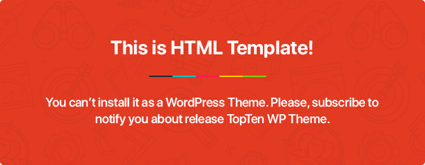 This is HTML Template!