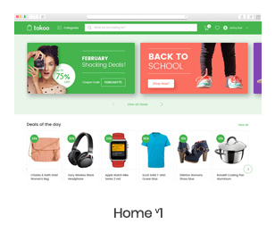 Tokoo - Electronics Store WooCommerce Theme for Affiliates, Dropship and Multi-vendor Websites - 4