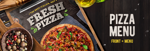 Pizza Flyer + Pizza Menu'14