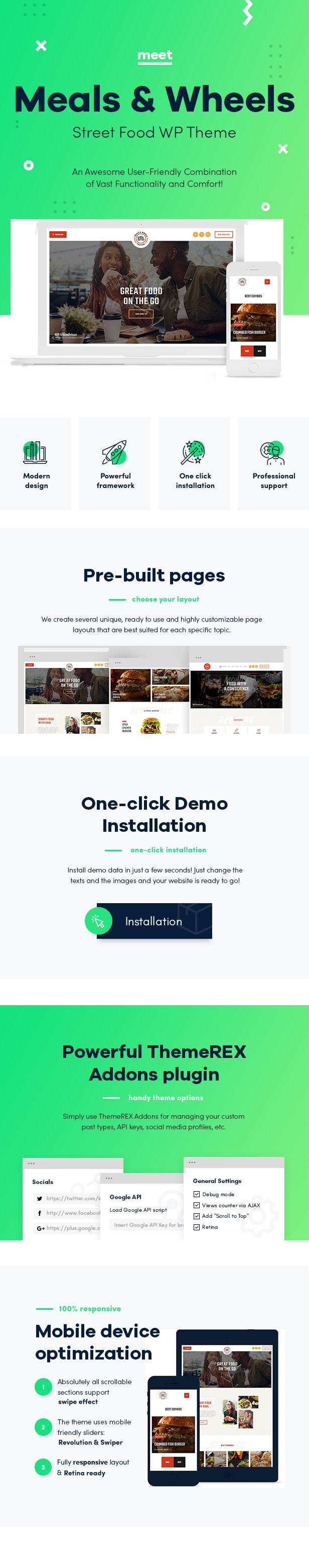 Meals & Wheels | Street Food Festival & Fast Food Delivery WordPress Theme - 1
