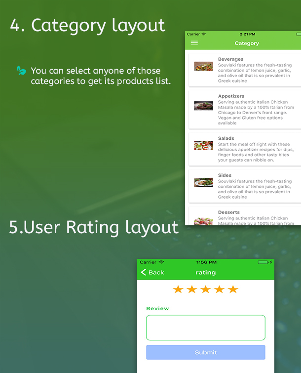 Ionic 3 Restaurant app with Firebase - 8