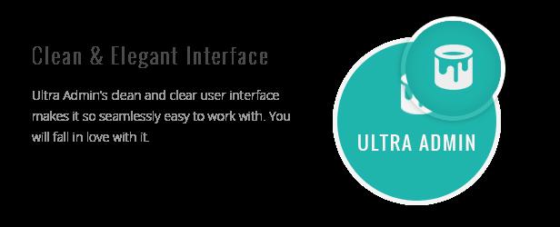Ultra - Multi Purpose Admin Theme - 5