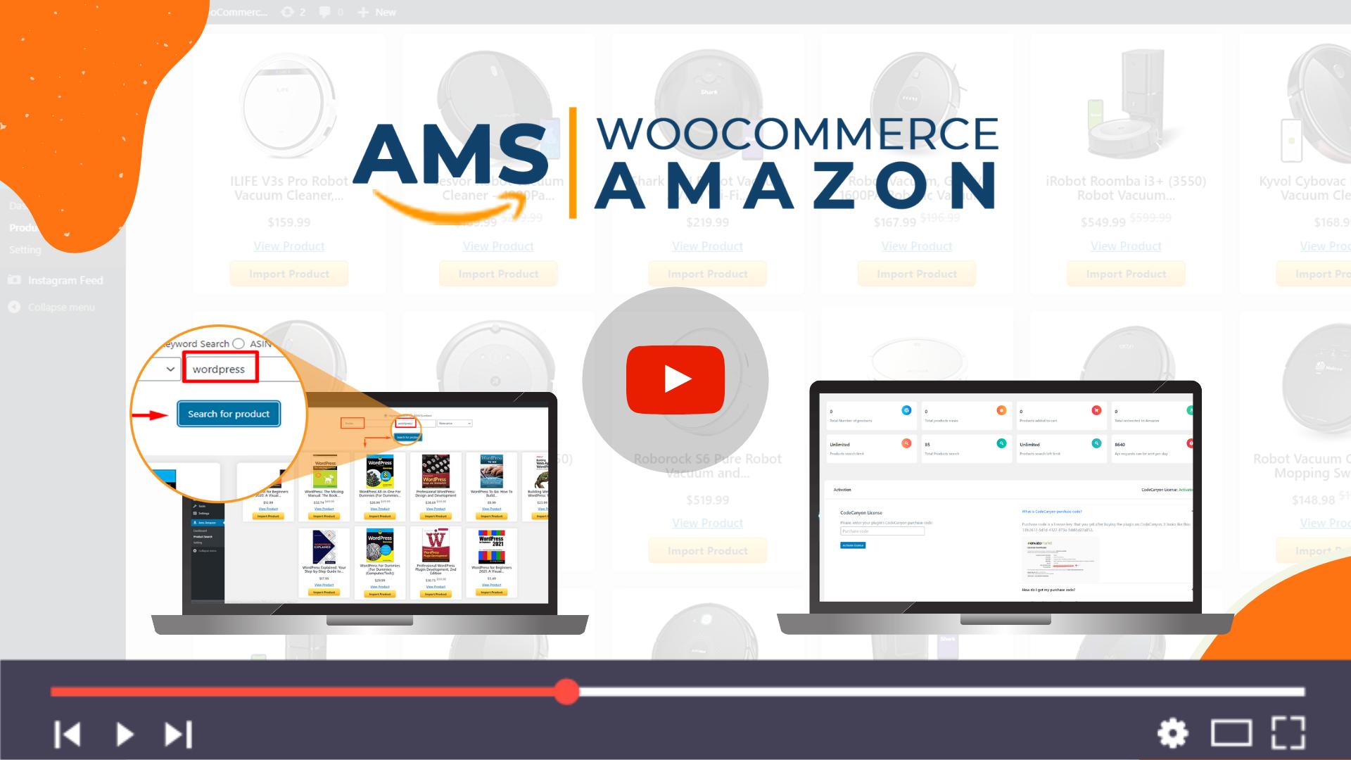 Affiliate Management System - WooCommerce Amazon - 2