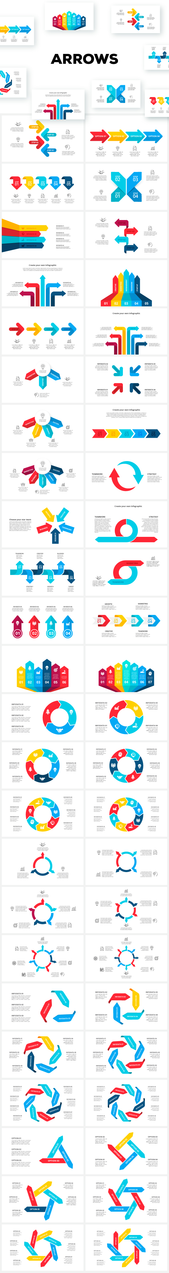 Multipurpose Infographics PowerPoint Templates v.5.0 - 159