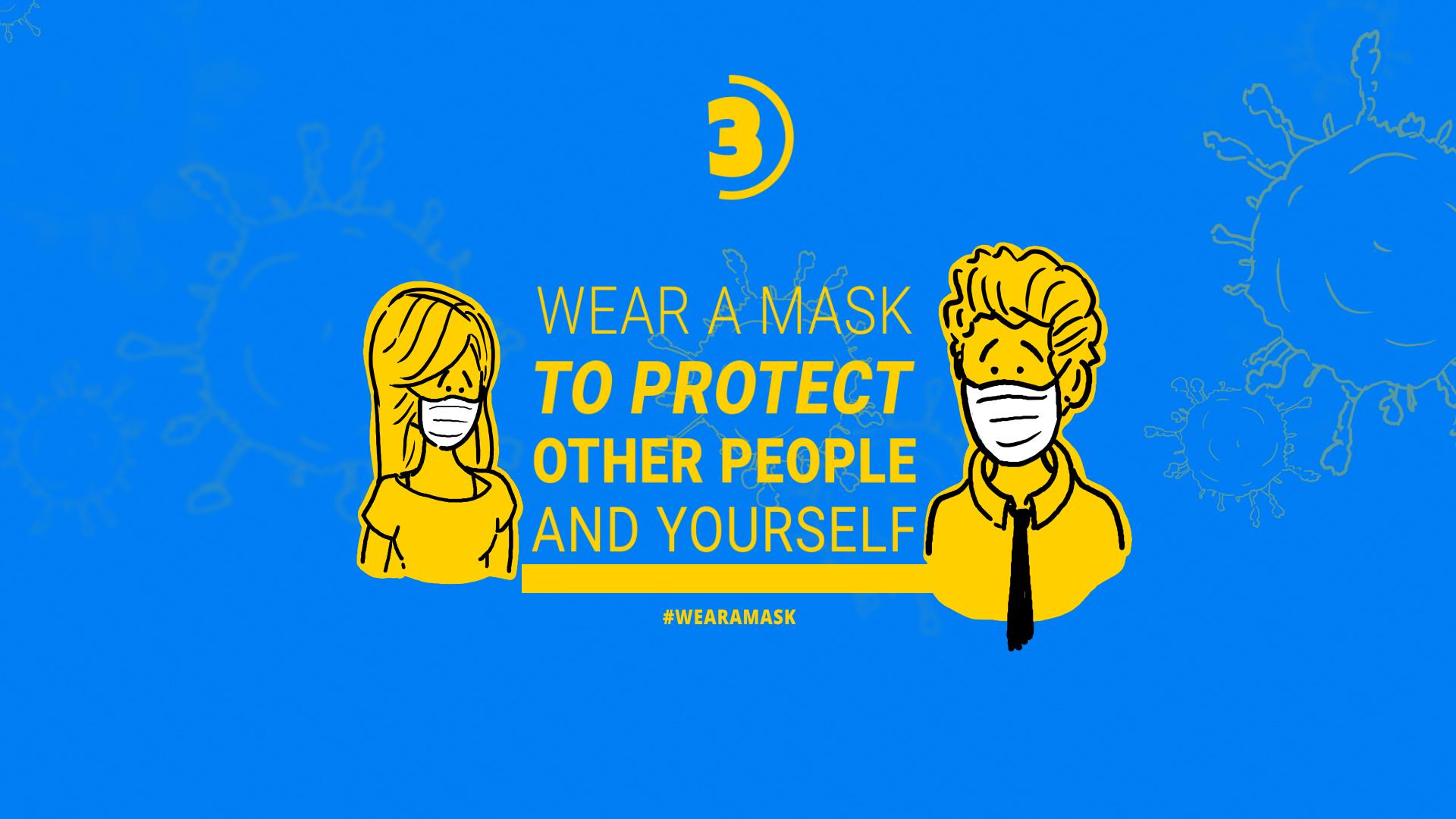 Coronavirus Animation Stay Safe - 3