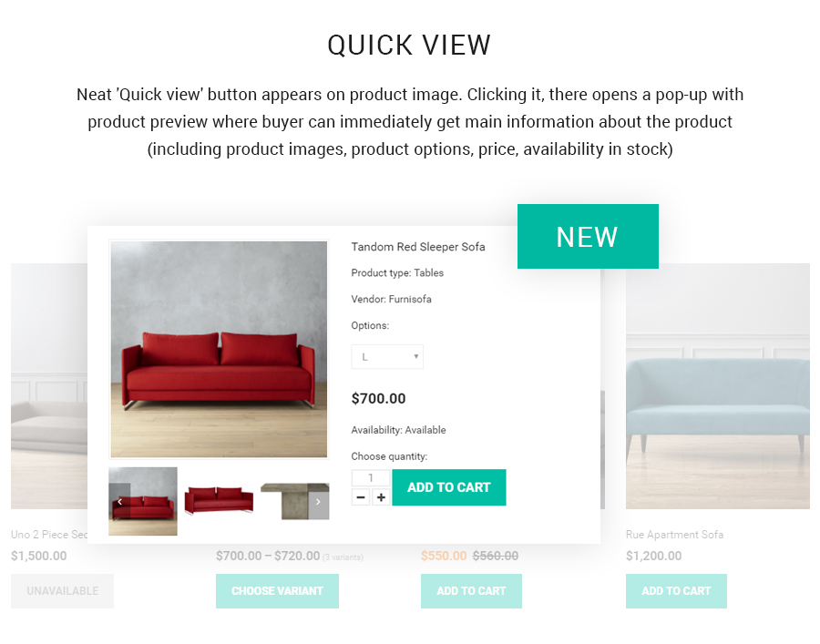 Furnisofa - Responsive Shopify Theme With Sections - 1