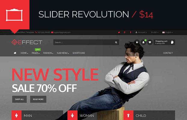 Effect - Responsive E-Commerce Template - 4