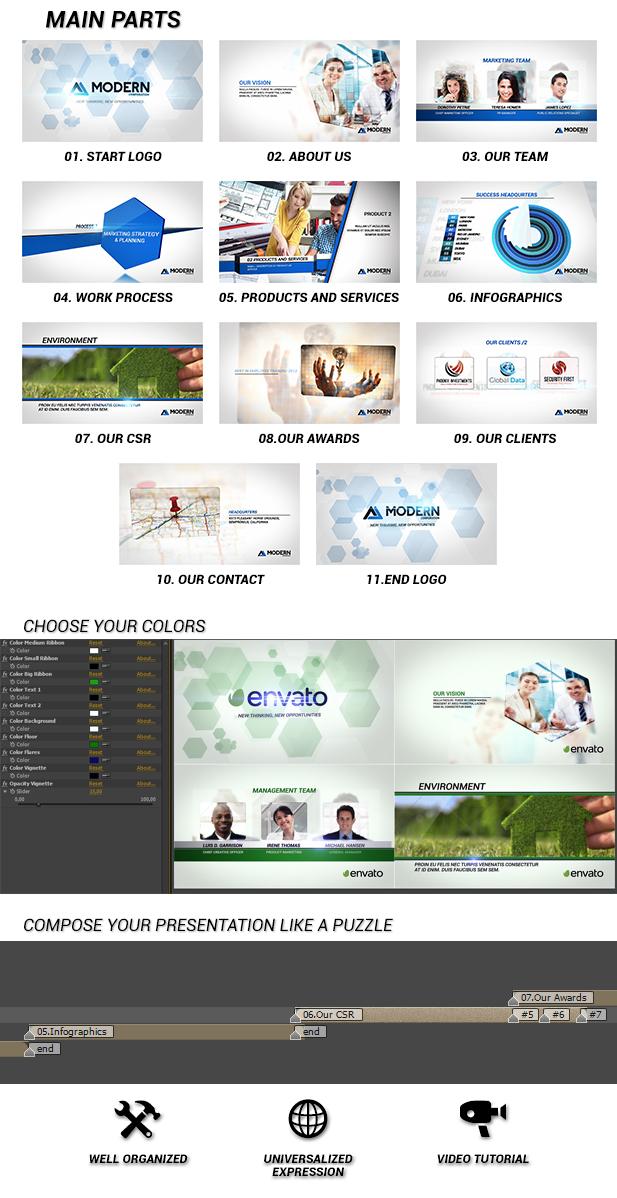 Modern Corporate Video Package - 4