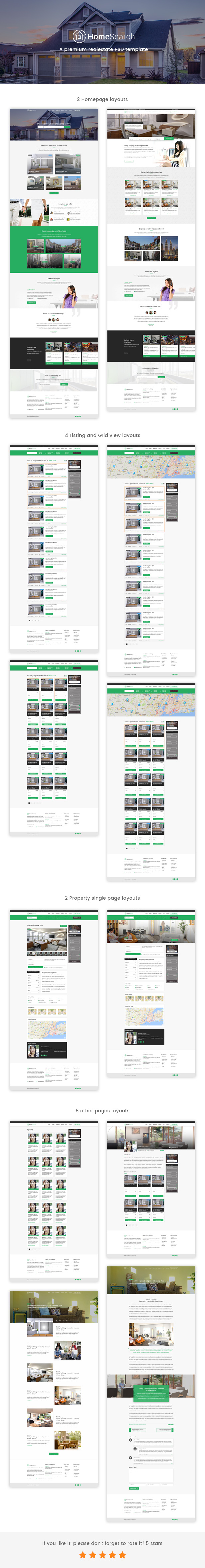 HomeSearch - A RealEstate HTML5 Template - 1