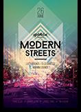Modern Streets Flyer