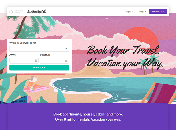 Book Your Travel - Online Booking WordPress Theme - 5