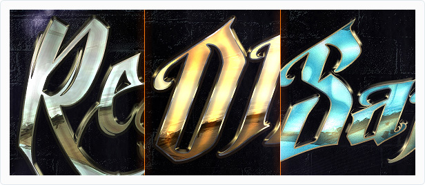 Medieval Photoshop Text Effects 2 of 2 - 3