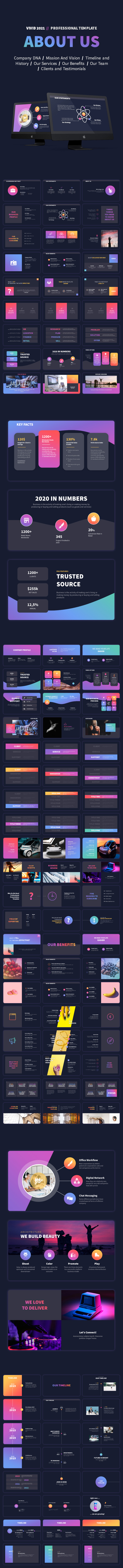 VIVID 2021 - Professional PowerPoint Presentation Template - 13