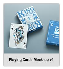 Playing Cards Mock-up v2 - 1