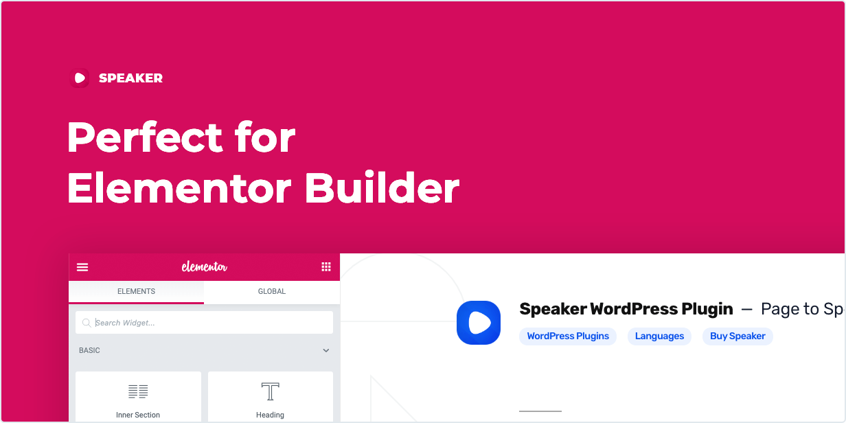 Fully compatible with Elementor
