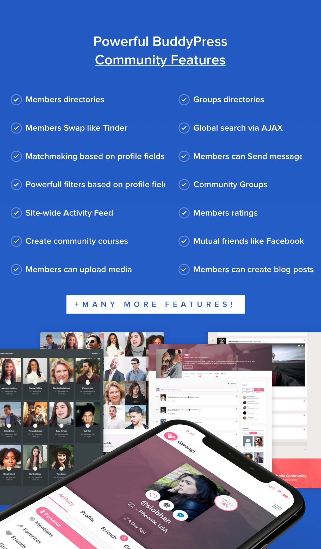Gwangi - PRO Multi-Purpose Membership, Social Network & BuddyPress Community Theme - 20