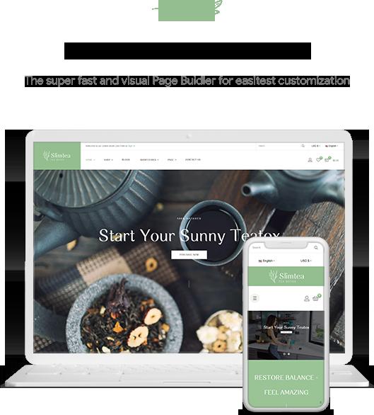 Leo Slimtea- Natural And Organic Tea Store Prestashop Theme