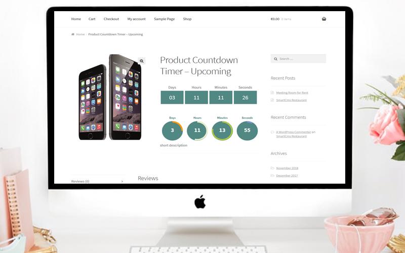 pricing slider product builder