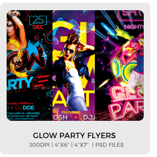 Abstract Party Flyers Bundle Vol1 - 13